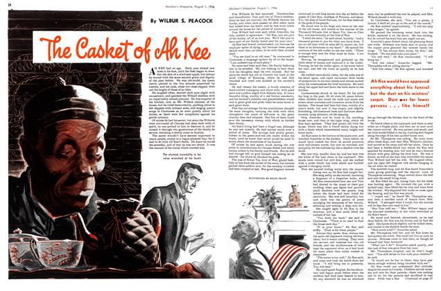 Article Preview: The Casket of Ah Kee, August 1946 | Maclean's