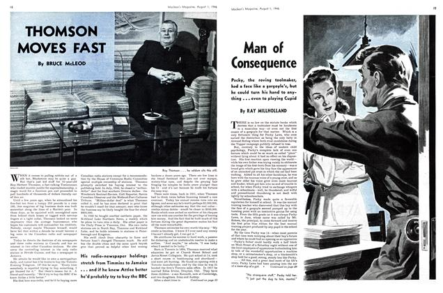 Article Preview: THOMSON MOVES FAST, August 1946 | Maclean's