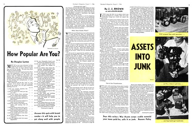 Article Preview: ASSETS INTO JUNK, August 1946 | Maclean's