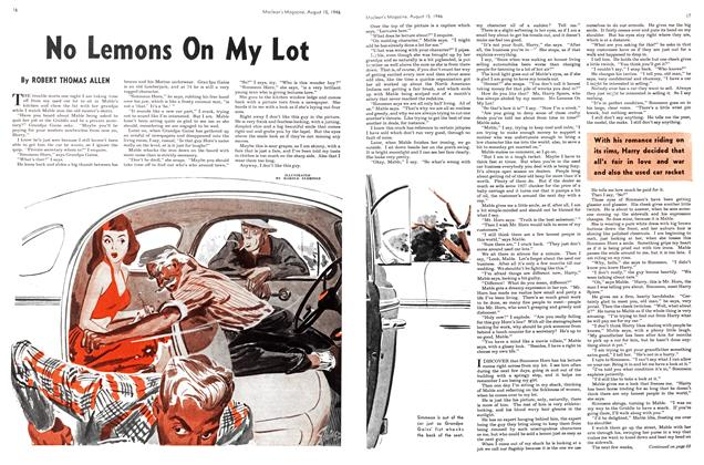 Article Preview: No Lemons On My Lot, August 1946 | Maclean's
