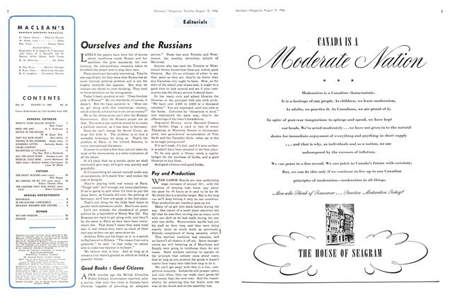 Article Preview: Ourselves and the Russians, August 1946 | Maclean's