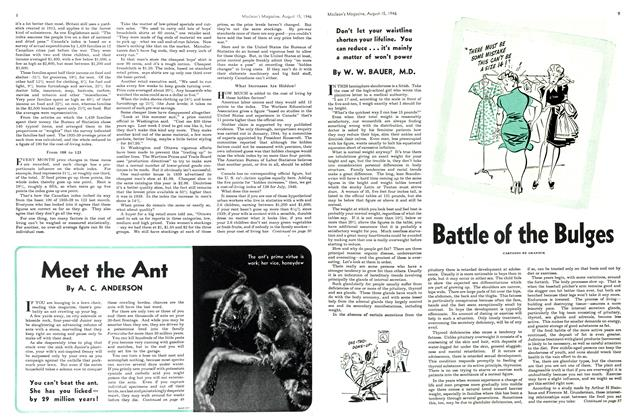 Article Preview: Battle of the Bulges, August 1946 | Maclean's