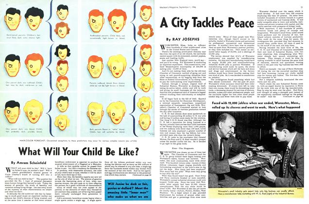 Article Preview: A City Tackles Peace, September 1946 | Maclean's