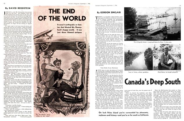 Article Preview: Canada's Deep South, September 1946 | Maclean's