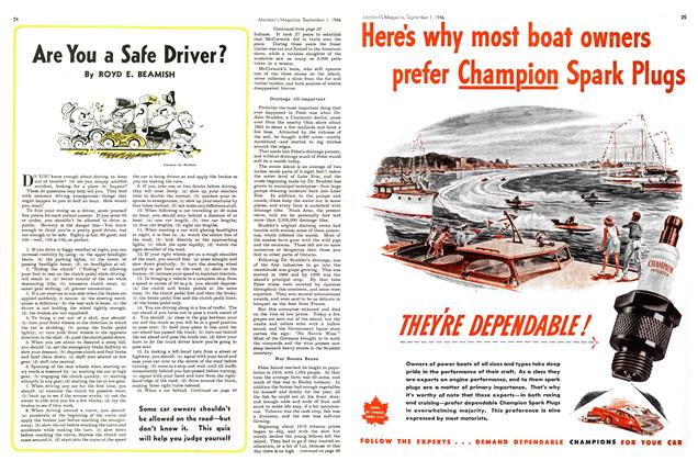 Article Preview: Are You a Safe Driver?, September 1946 | Maclean's