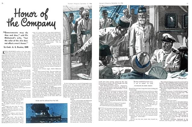 Article Preview: Honor of the Company, September 1946 | Maclean's