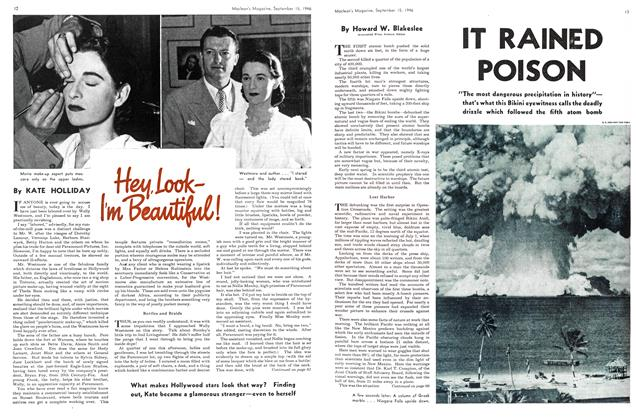 Article Preview: Hey, LookI'm Beautiful!, September 1946 | Maclean's