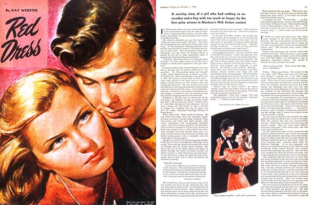 Article Preview: Red Dress, October 1946 | Maclean's