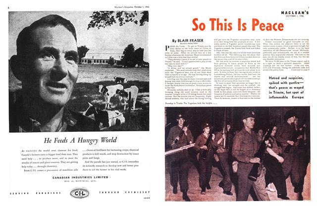 Article Preview: So This Is Peace, October 1946 | Maclean's
