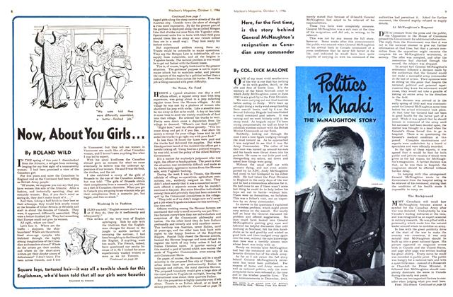Article Preview: Now, About You Girls..., October 1946 | Maclean's
