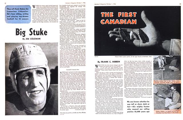Article Preview: THE FIRST CANADIAN, October 1946 | Maclean's