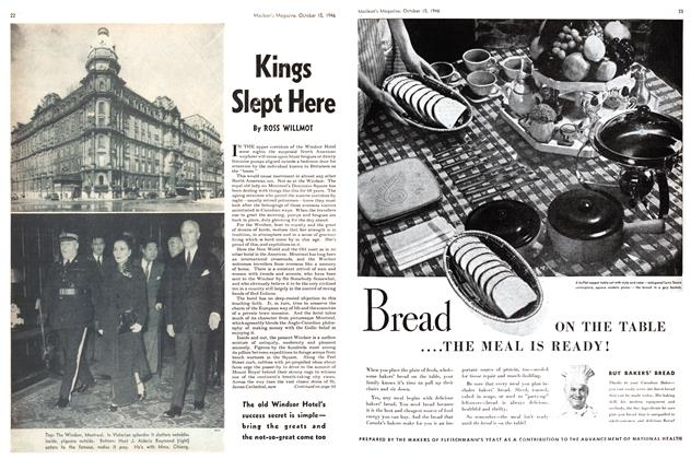 Article Preview: Kings Slept Here, October 1946 | Maclean's