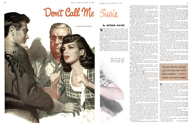 Article Preview: Don't Call Me Susie, October 1946 | Maclean's