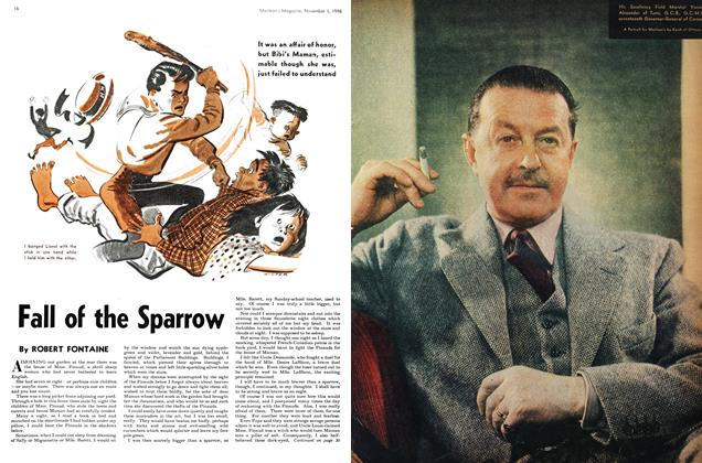 Article Preview: Fall of the Sparrow, November 1946 | Maclean's