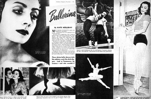 Article Preview: Ballerina, November 1946 | Maclean's