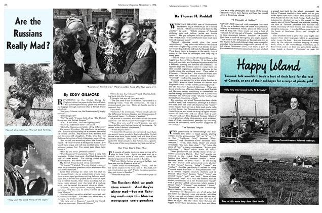Article Preview: Happy Island, November 1946 | Maclean's