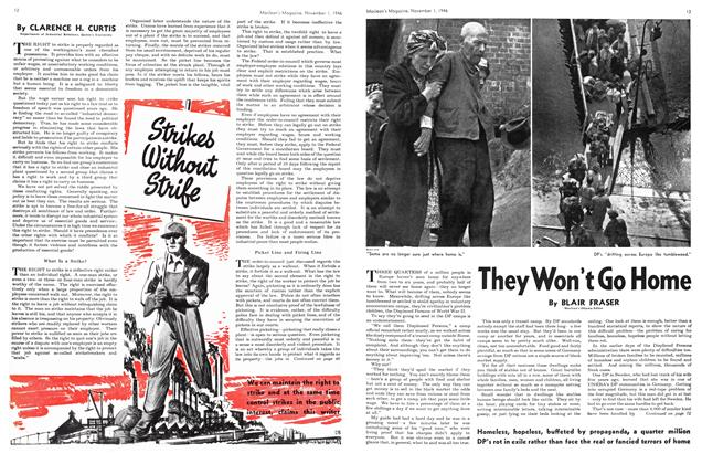 Article Preview: They Won't Go Home, November 1946 | Maclean's