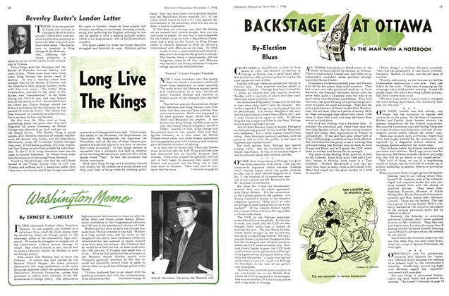 Article Preview: BACKSTAGE AT OTTAWA, November 1946 | Maclean's