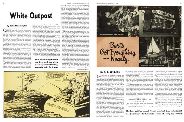 Article Preview: Bert's Got Everything —Nearly, November 1946 | Maclean's