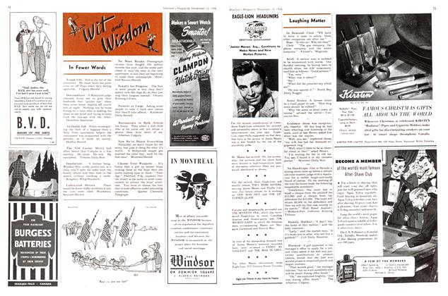 Article Preview: Laughing Matter, November 1946 | Maclean's