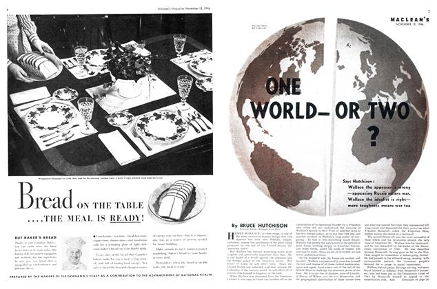 Article Preview: ONE WORLD-OR TWO?, November 1946 | Maclean's