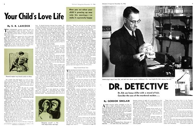 Article Preview: DR. DETECTIVE, November 1946 | Maclean's
