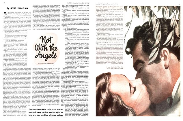 Article Preview: Not With the Angels, November 1946 | Maclean's