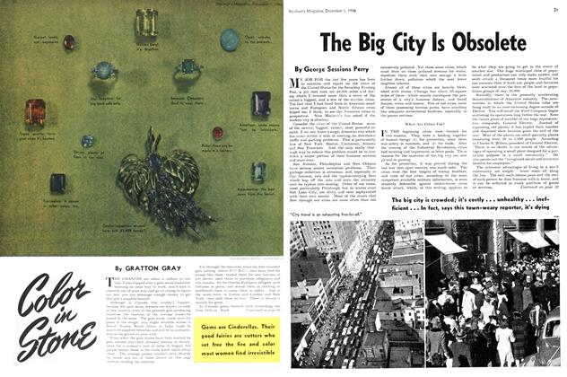 Article Preview: The Big City Is Obsolete, December 1946 | Maclean's