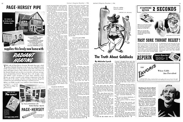 Article Preview: The Truth About Goldilocks, December 1946 | Maclean's