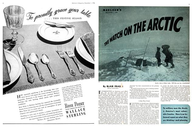 Article Preview: THE WATCH ON THE ARCTIC, December 1946 | Maclean's