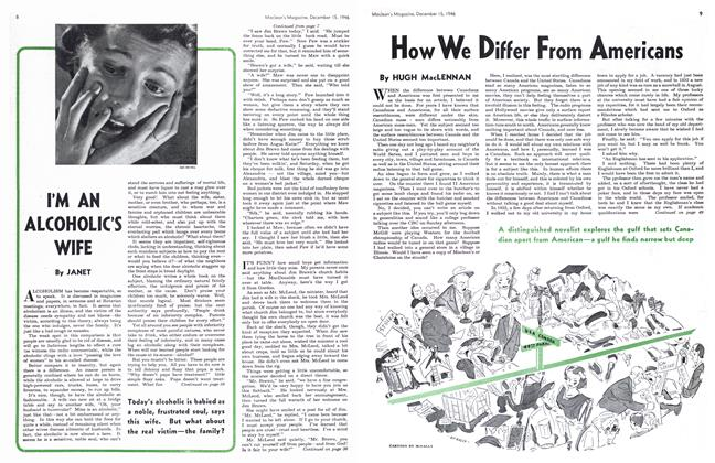 Article Preview: How We Differ From Americans, December 1946 | Maclean's