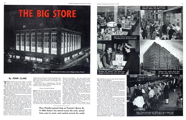 Article Preview: THE BIG STORE, December 1946 | Maclean's