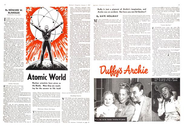 Article Preview: Atomic World, January 1947 | Maclean's