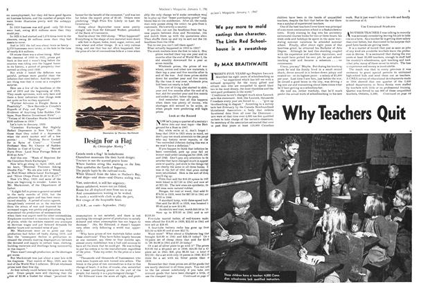 Article Preview: Why Teachers Quit, January 1947 | Maclean's