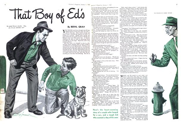 Article Preview: That Boy of Ed's, January 1947 | Maclean's