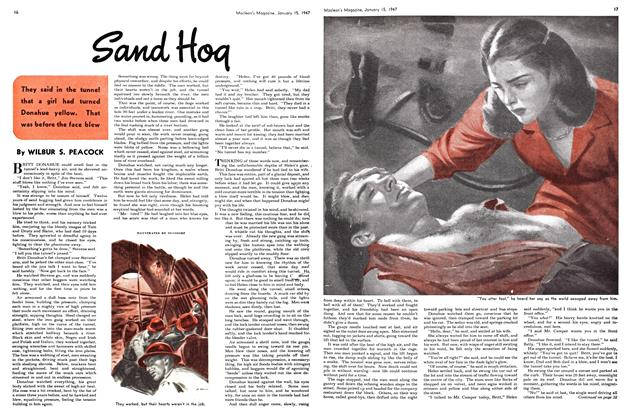Article Preview: Sand Hog, January 1947 | Maclean's