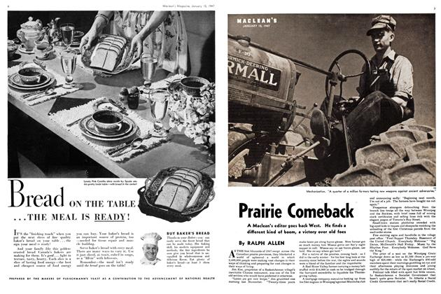 Article Preview: Prairie Comeback, January 1947 | Maclean's