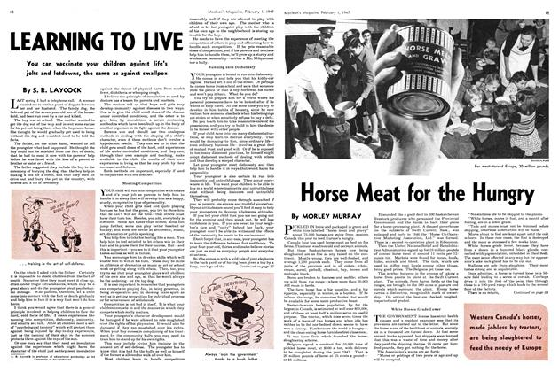 Article Preview: Horse Meat for the Hungry, February 1947 | Maclean's