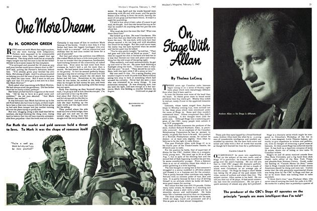 Article Preview: On Stage With Allan, February 1947 | Maclean's