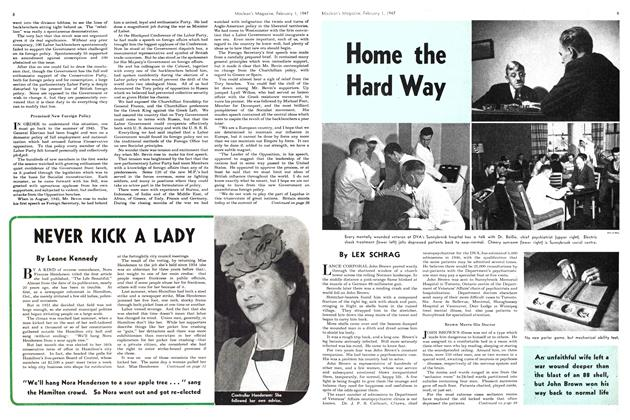 Article Preview: Home the Hard Way, February 1947 | Maclean's