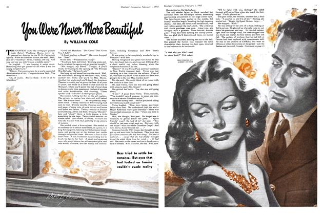 Article Preview: You Were Never More Beautiful, February 1947 | Maclean's