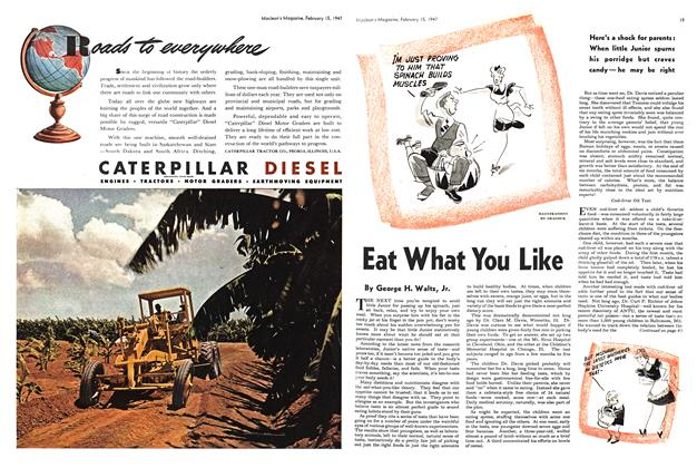 Article Preview: Eat What You Like, February 1947 | Maclean's