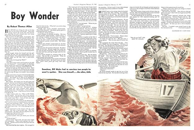 Article Preview: Boy Wonder, February 1947 | Maclean's