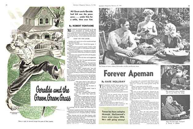 Article Preview: Forever Apeman, February 1947 | Maclean's