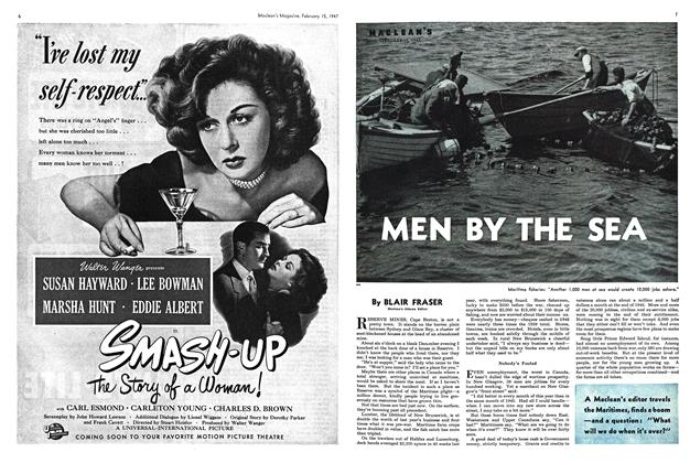 Article Preview: MEN BY THE SEA, February 1947 | Maclean's