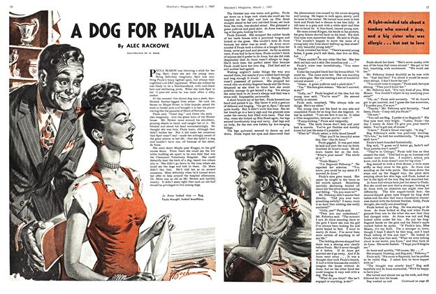 Article Preview: DOG FOR PAULA, March 1947 | Maclean's
