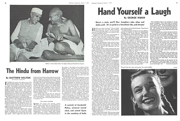 Article Preview: The Hindu from Harrow, March 1947 | Maclean's