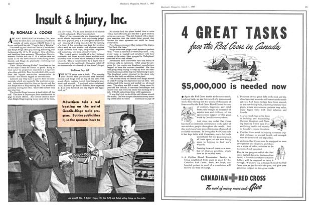 Article Preview: Insult & Injury, Inc., March 1947 | Maclean's