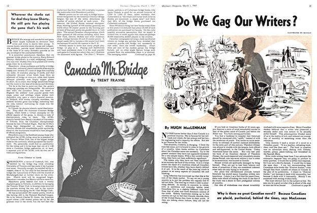 Article Preview: Do We Gag Our Writers?, March 1947 | Maclean's