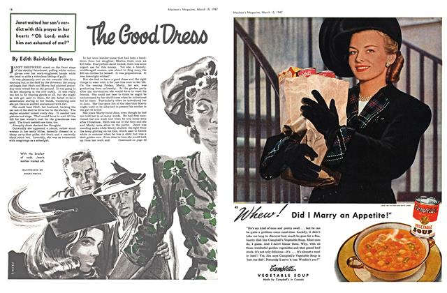 Article Preview: The Good Dress, March 1947 | Maclean's